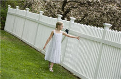 Beautiful Vinyl Fence