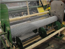 Chain Link Fence Production